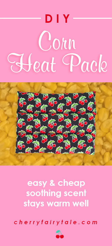 Corn Heat Pack DIY