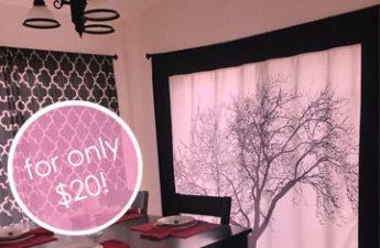 DIY Picture Curtain
