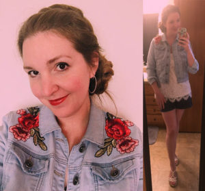 DIY Embellished jacket
