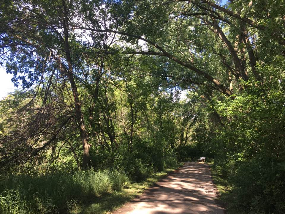 beautiful iowa bike trail