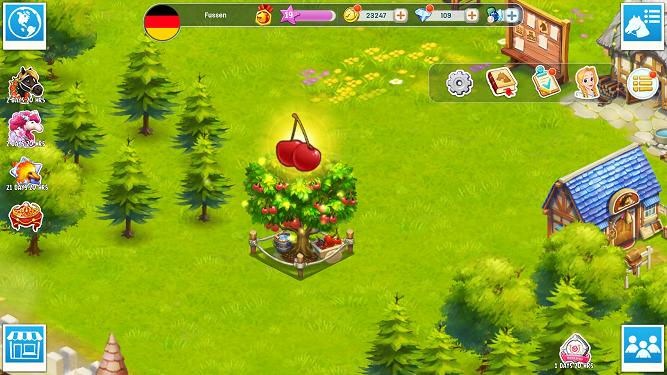 cherry tree Horse Haven