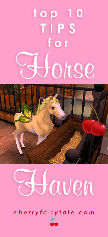 horse haven ten tips