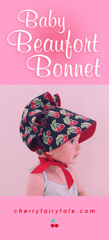 Baby Beaufort Bonnet cherry