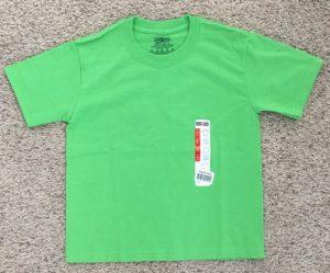 dollar tree green shirt