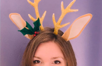 DIY Reindeer Ears