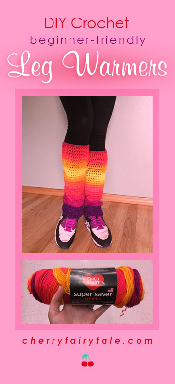 crochet leg warmers feature