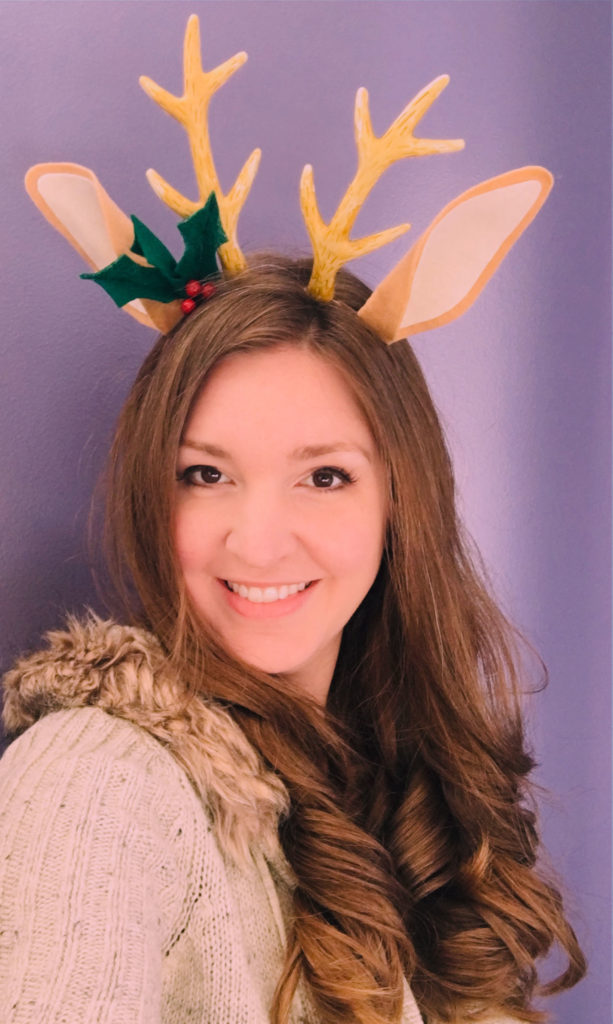 DIY reindeer ears photo
