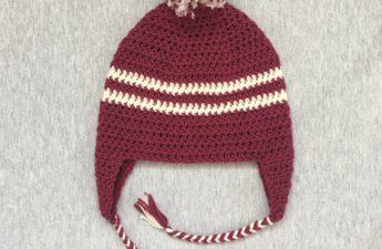 2 color winter hat