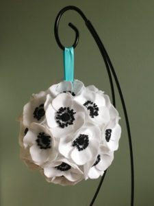 DIY Hanging Bouquet Close Up