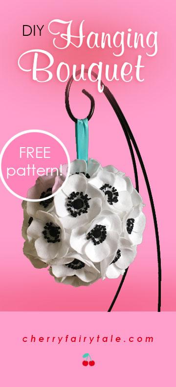 DIY Hanging Bouquet Feature
