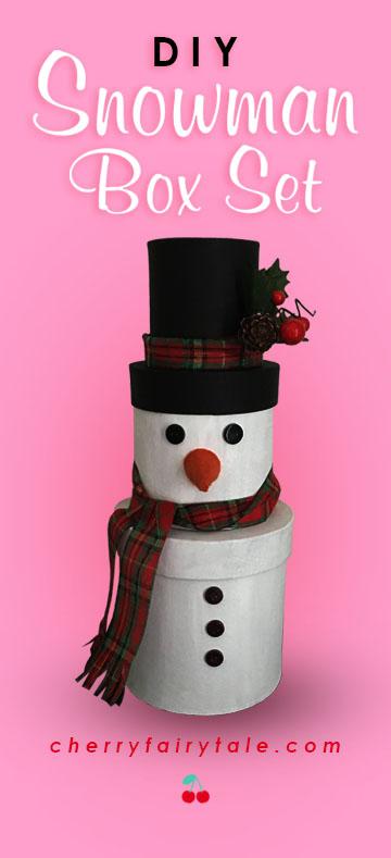 DIY Snowman Box Set