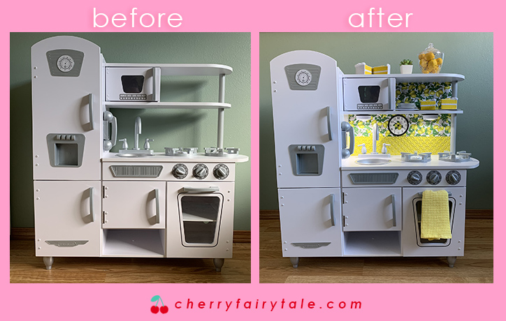 Play Kitchen Before After