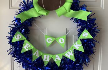 DIY Team Wreath