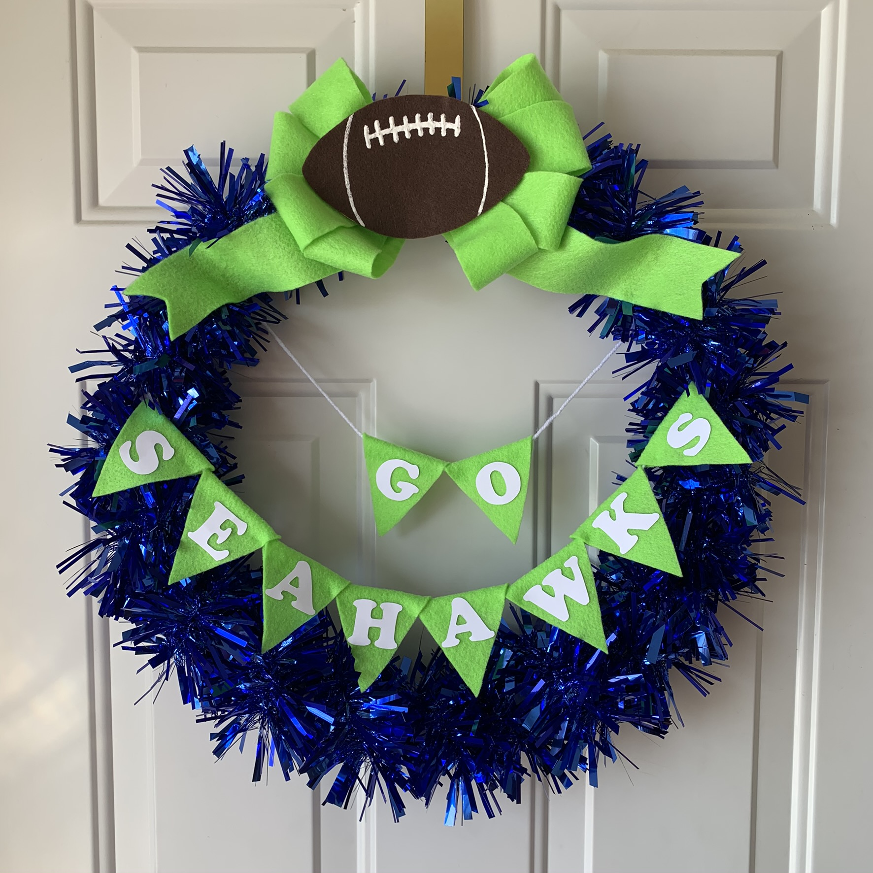 DIY Team Wreath