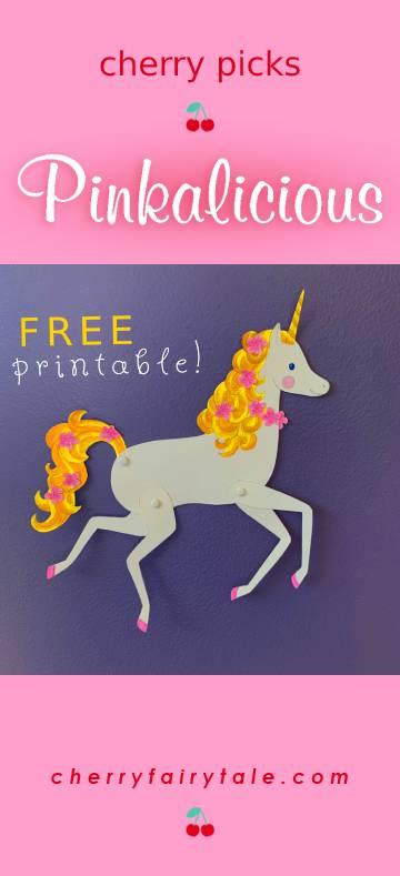 Pinkalicious Goldie FREE Printable