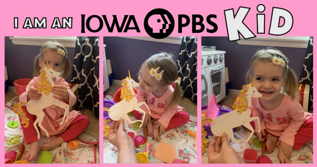 iowa pbs kid lily with goldie