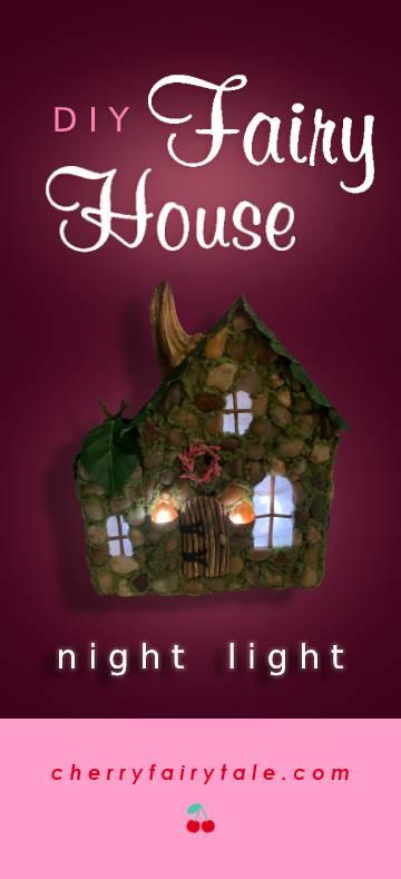 DIY Fairy House Nightlight