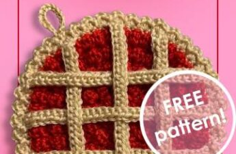 Pie Potholder by Cherry Fairy Tale