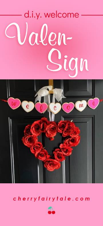 DIY welcome valensign