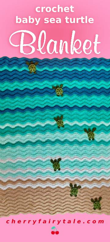 Baby Sea Turtle Blanket
